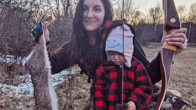 Mum Who Takes Two-Year-Old Daughter Hunting Hits Back At Trolls