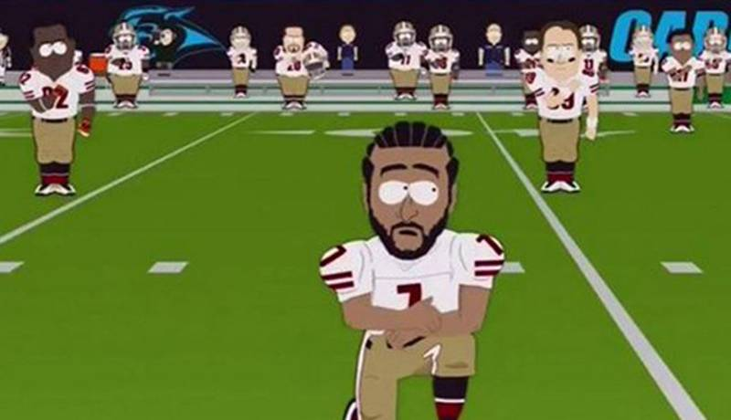 'South Park' Had A Hilarious Response To The NFL National Anthem Controversy