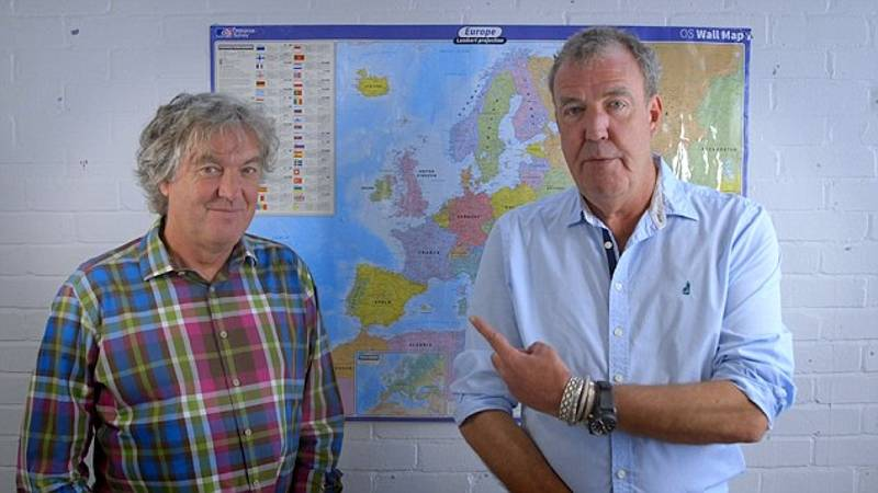 Jeremy Clarkson And James May Give Their Verdict On The EU Referendum