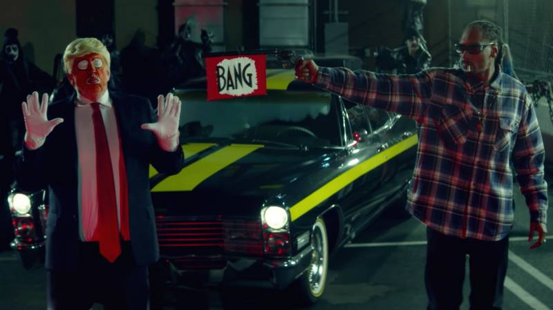 Donald Trump Is Not Happy About Snoop Dogg's New Music Video