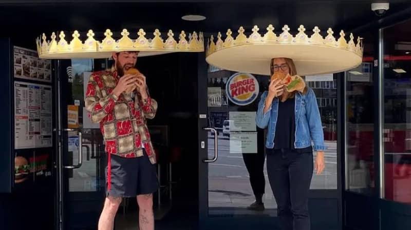 Burger King Introduces Social Distancing Crowns