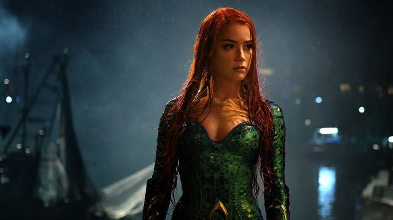 Amber Heard Is Excited To Return To Aquaman 2 Despite Petition