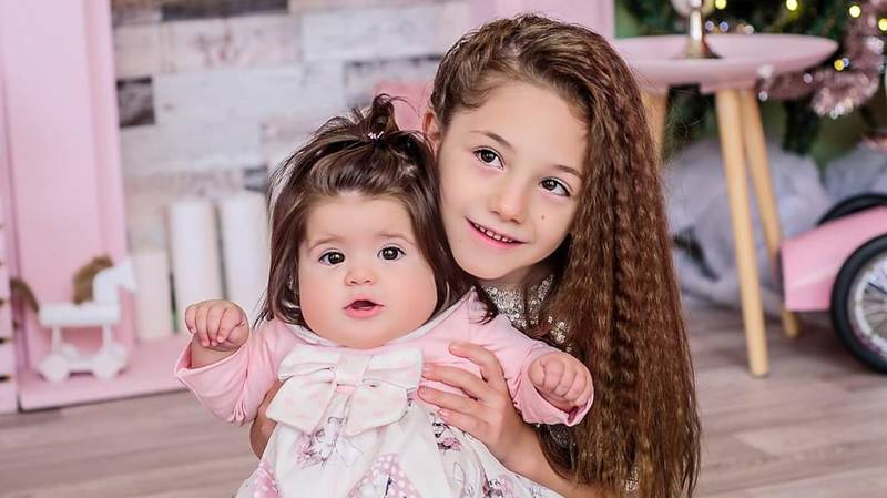Youngster Gets Her Wish As Baby Sister Is Born With Full Head Of Hair