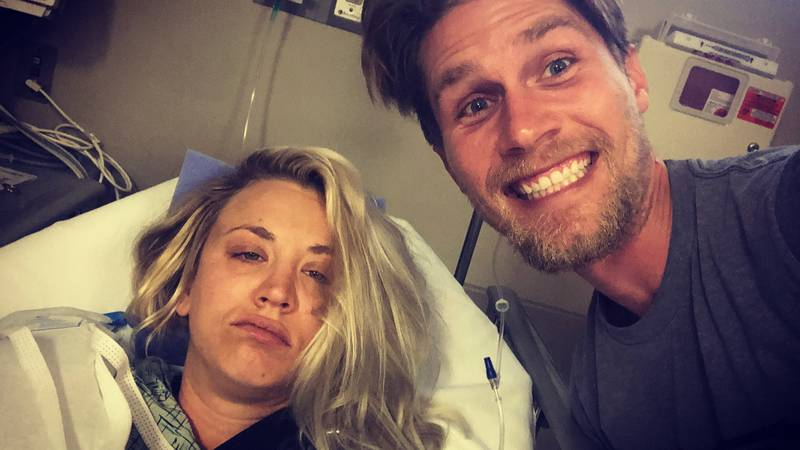 Big Bang Theory's Kaley Cuoco Has Spent Her Honeymoon In Hospital