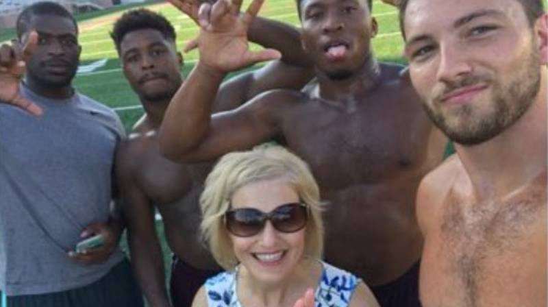 Mum Drops Daughter Off At University Then Hangs With The Football Team