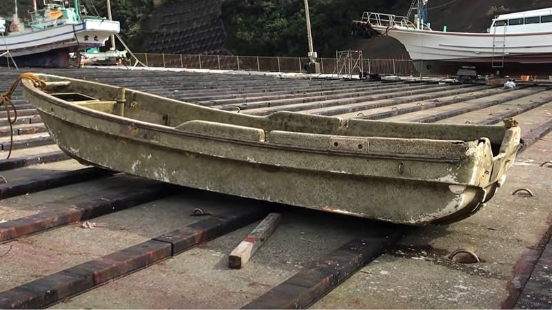 Finishing Boat Turns Up 10 Years After It Vanished During Tsunami