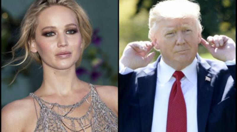 Jennifer Lawrence Slammed For 'Mother Nature's Rage' Hurricane Comments Towards Trump