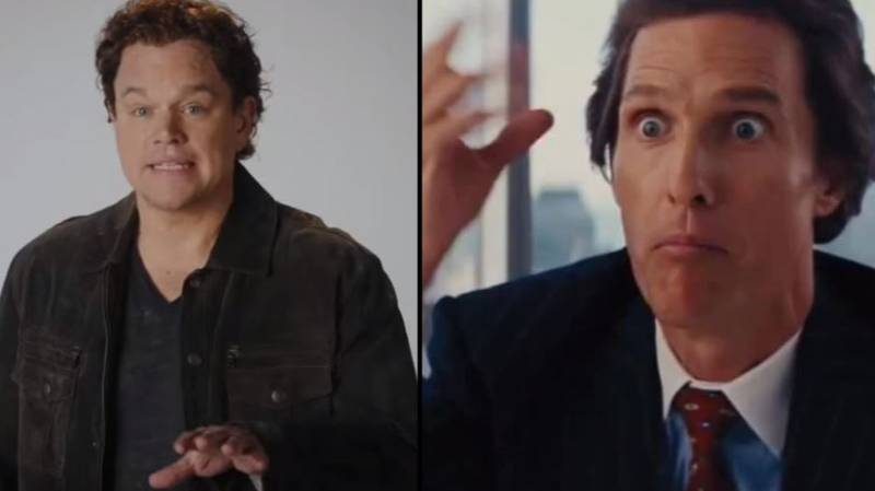 Matt Damon's Impression Of Matthew McConaughey Needs To Be Seen To Be Believed