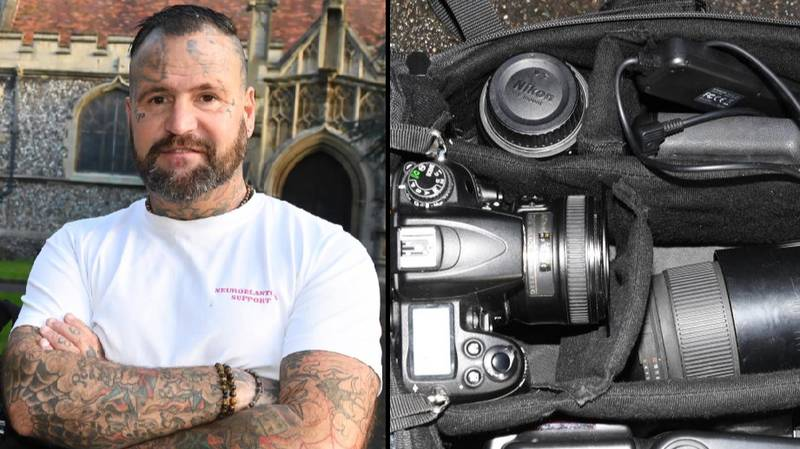 Dad Tracks Down Camera Thief, Visits His House And Makes Him Cry