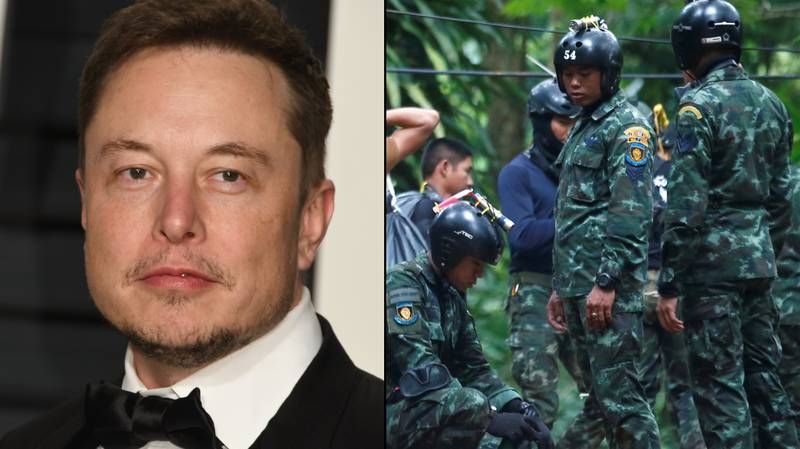 Elon Musk Sends Engineers From His Boring Company To Help Thai Cave Rescue