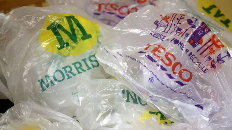 Morrisons & Tesco Have Agreed To Stop Using 5p Plastic Bags By The End Of 2018