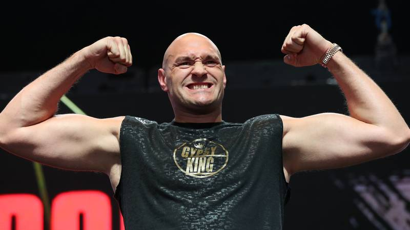 Tyson Fury Changed First Name From Luke Claims Rival Dillian Whyte