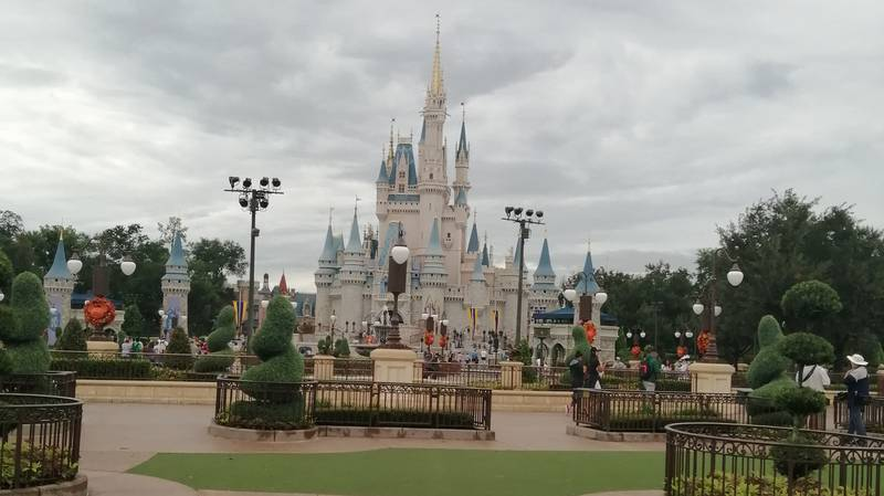 Eerie Photos Show An Almost-Deserted Disney World After It Reopens Following Hurricane Dorian