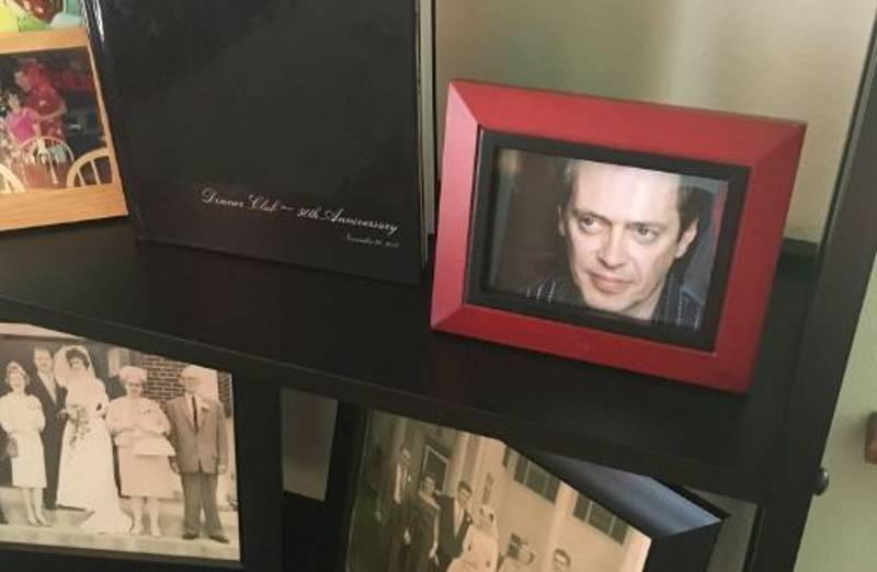 Guy Replaces All The Photos In His House With Steve Buscemi