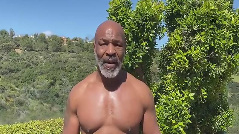 Mike Tyson Shows Off Ridiculous Speed As He Vows To Fight With The Spirit Of Mao