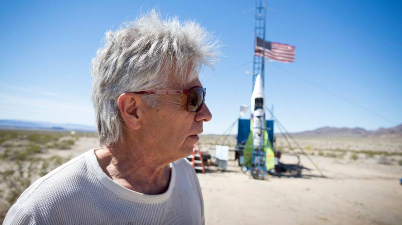 Inventor 'Mad' Mike Hughes Killed In Homemade Rocket Crash
