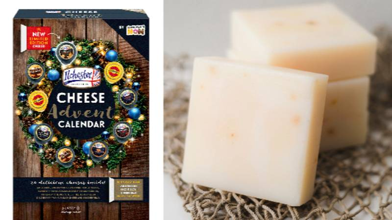 Sainsbury's Has Launched A Cheese Advent Calendar For £10
