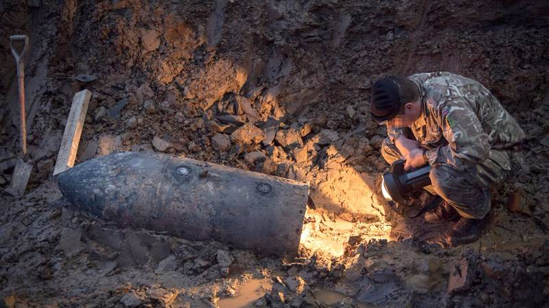 ​A World War II Bomb Was Found In North London