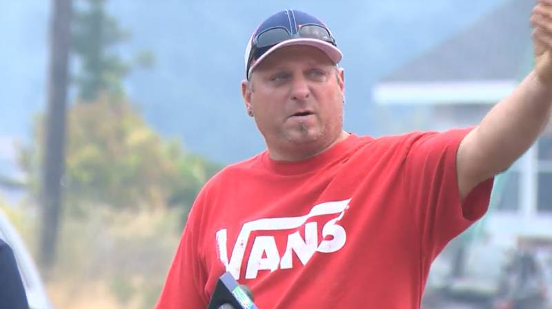 Man Uses Bud Light To Put Out Wildfire On His Property
