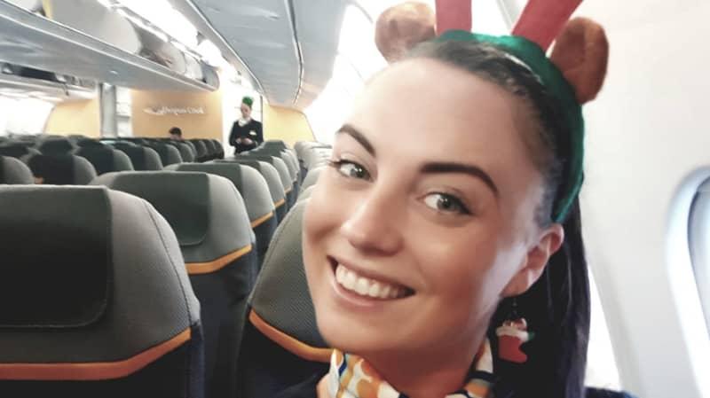 Air Hostess Shares Images Of Horrific Mid-Flight Ankle Break
