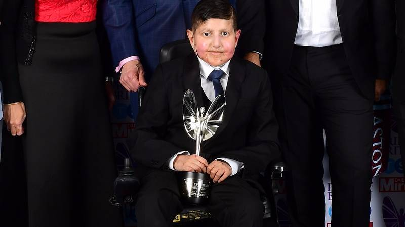 Teenager With Excruciating Skin Condition Wins Pride Of Britain Award