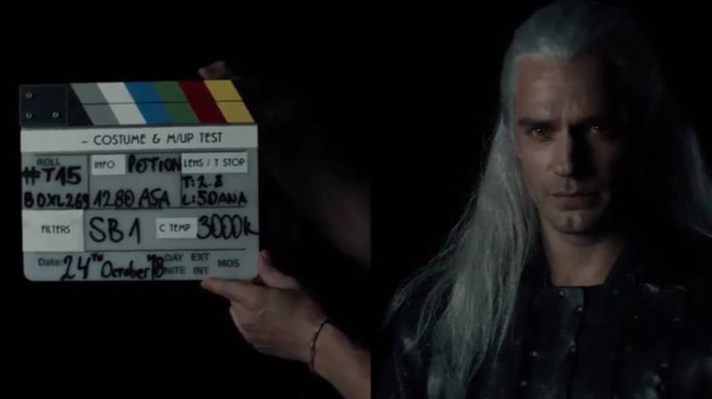 First Footage Of Henry Cavill As Geralt In Netflix Version Of 'The Witcher' Released