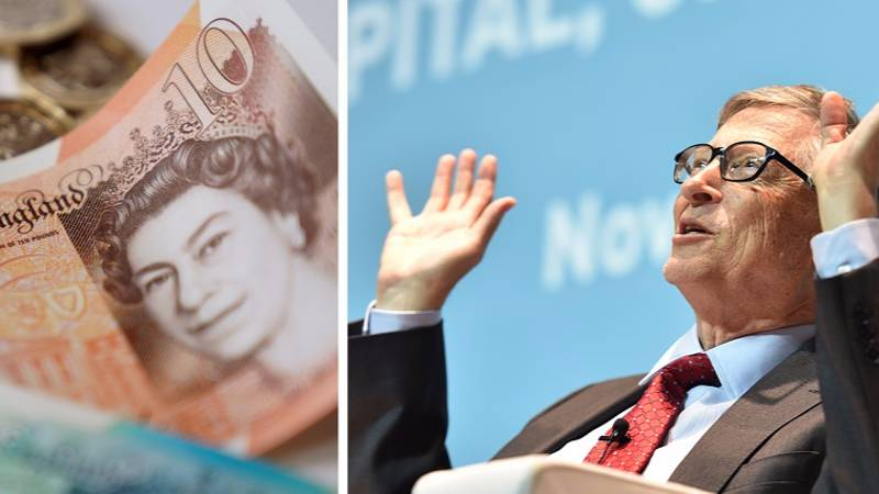Bill Gates' Net Worth Equals A £1,372 Christmas Present For Every UK Citizen