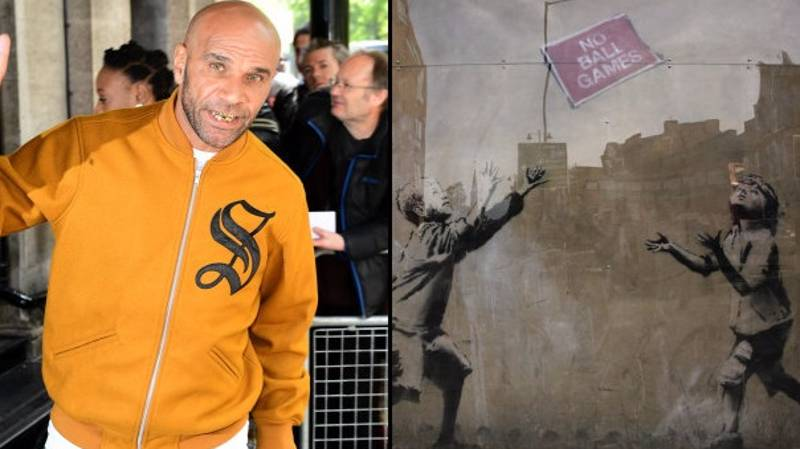 Has Goldie Revealed The True Identity Of Banksy?