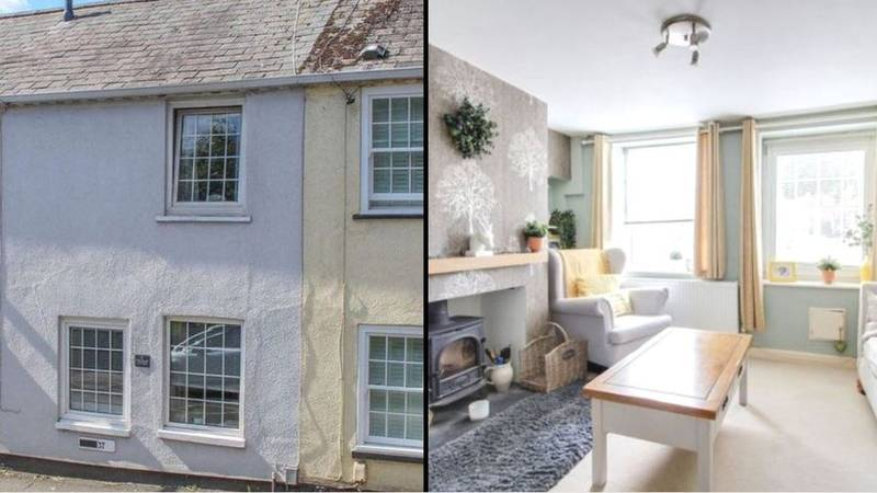 Two-Bed House Goes On Sale For £210K But Owner Will Have Trouble Getting In