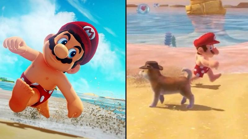 Super Mario Has Become An Advocate For The Free The Nipple Campaign