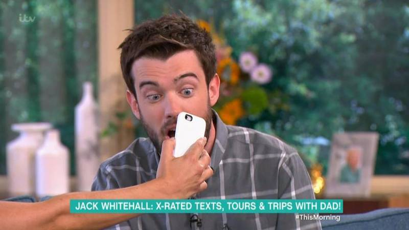 Holly Willoughby Reveals Jack Whitehall Sent Her A 'Rude Picture'