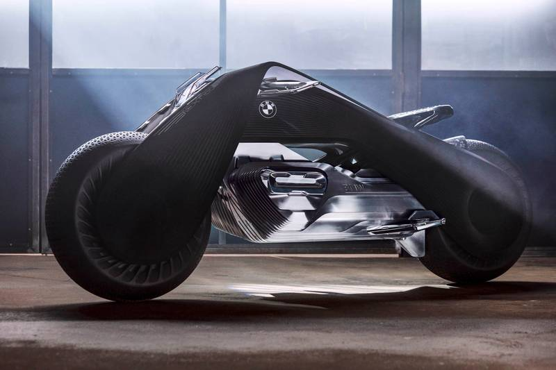 The New BMW Motorbike Design Looks Like Something From 'Tron'