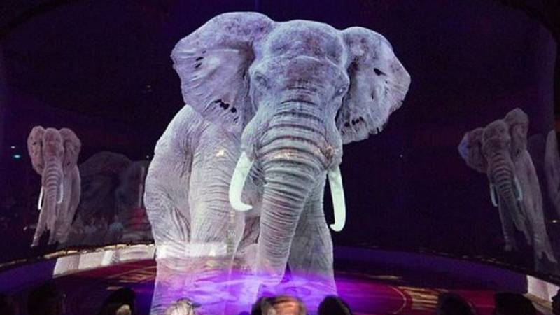 German Circus Uses Holograms Of Animals Instead Of The Real Thing