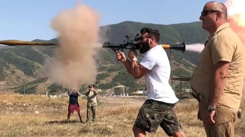 Dan Bilzerian Gets Armenian Citizenship And Registers For Military Service