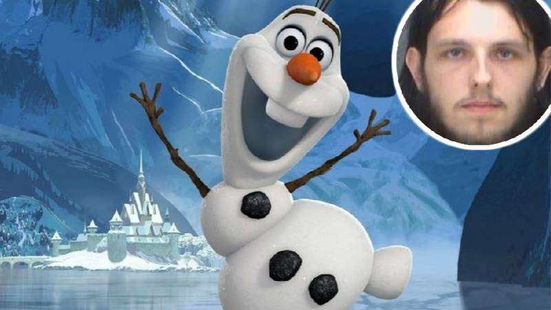 Man Arrested After Defiling Doll Of Olaf From Frozen In Department Store
