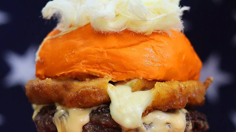 Sydney Restaurant Causes A Stir With 'Orange Man' Burger That Comes With Special Seasoning