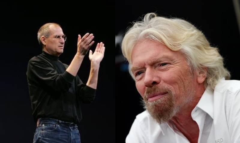 Richard Branson Uses Steve Jobs' 'Last Words' As Inspiration And Motivation