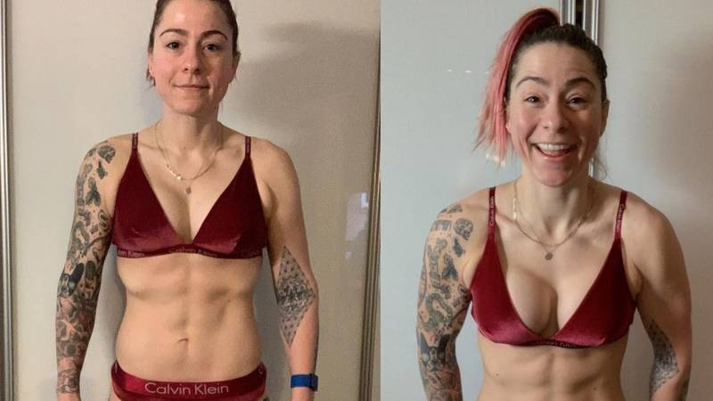 ​Lucy Spraggan Ripped After Six-Week Transformation