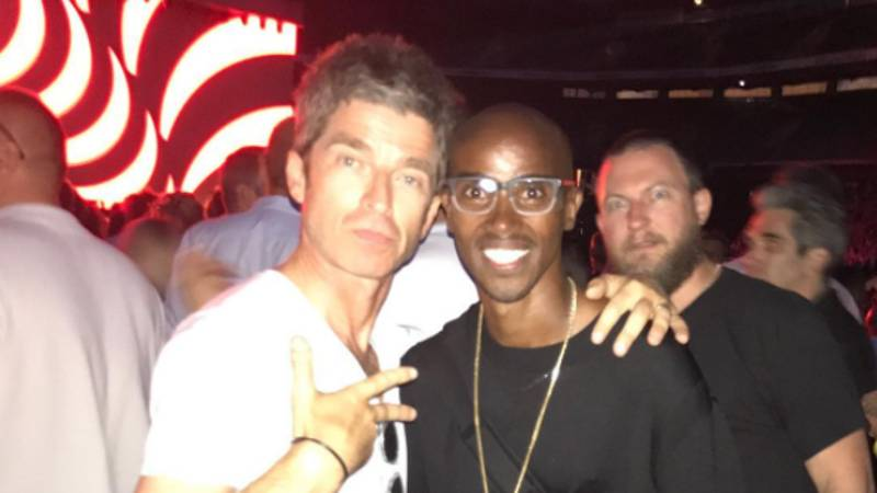 Mo Farah Gets The Gallagher Brothers Mixed Up In Unfortunate Twitter Post