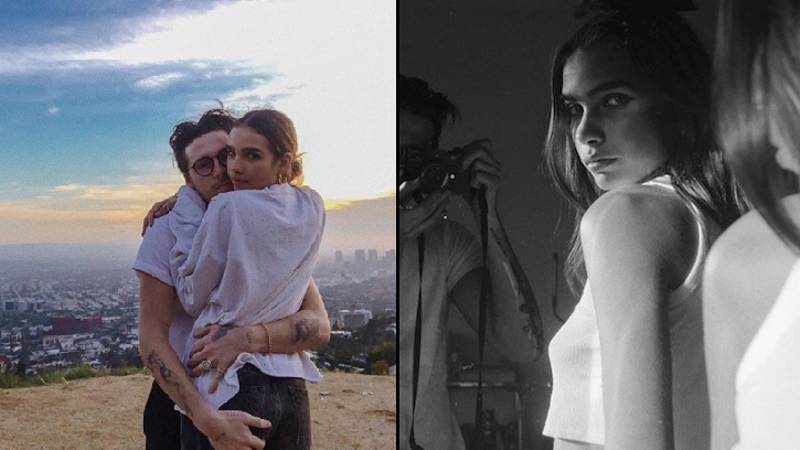 Brooklyn Beckham Declares Love For New Girlfriend (And Fans Think She Looks Like His Mum)