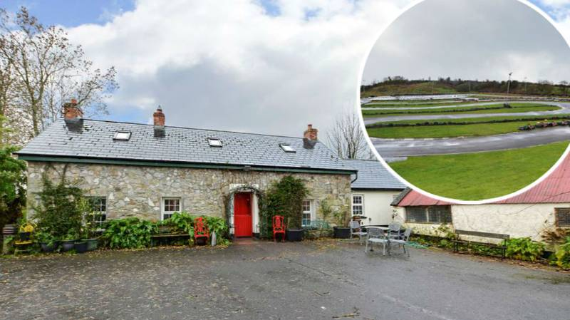 Traditional Cottage Has Gone Up For Sale With A Go Kart Track