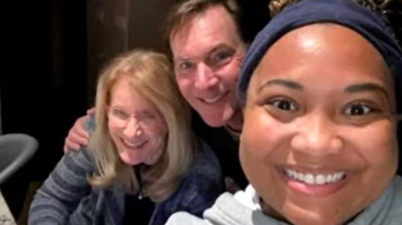 Couple Take In Delivery Driver After She Was Stranded In Texas Storm
