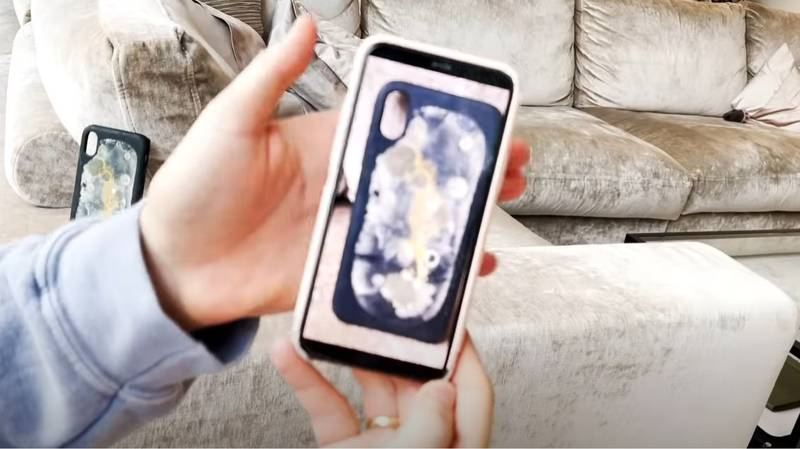 Influencer Lists Mouldy Phone Cover On eBay And Gets £120,000 In Bids