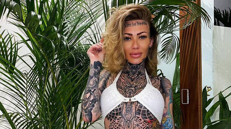 'Britain's Most Tattooed Woman' Started Inking Face After Running Out Of Room Elsewhere On Body