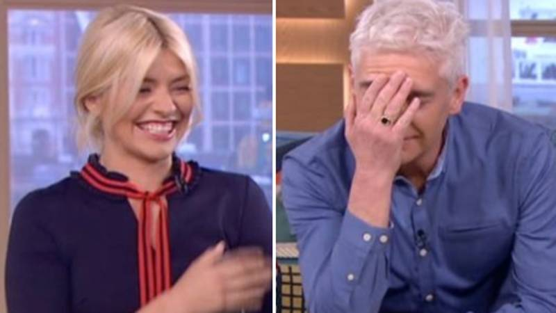 Holly Willoughby And Phillip Schofield Could Not Keep It Together On 'This Morning'
