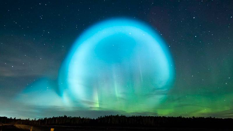 Strange Lights In The Sky Cause Panic In Russia