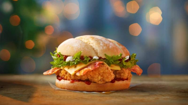 The McDonald's Festive Menu Is Available From Today