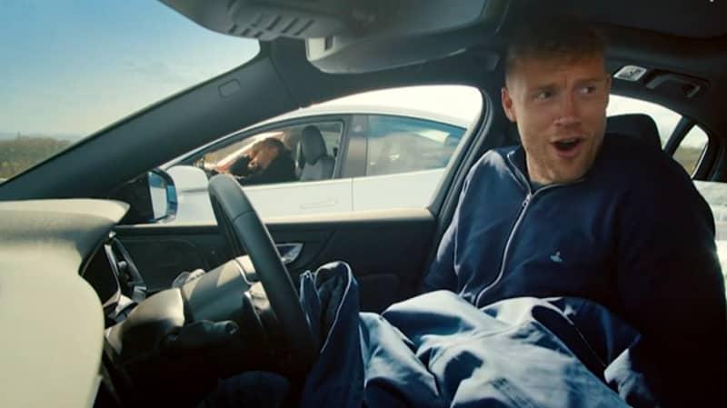 Top Gear Viewers Shocked As Freddie Flintoff Wets Himself While Driving