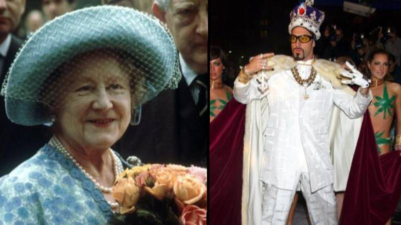Princes William And Harry Taught The Queen Mother How To Do 'Ali G' Impression
