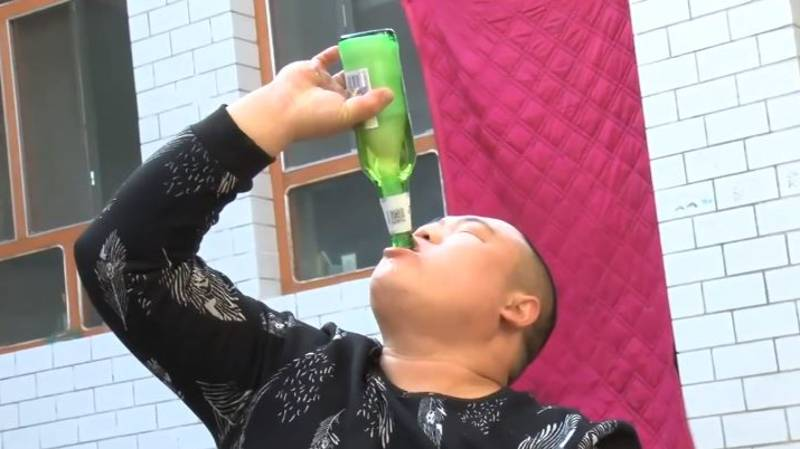 Man Becomes 'Twitter King' As His Tornado Drinking Technique Goes Viral